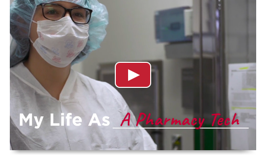 My life as a PHARMACY TECHNICIAN